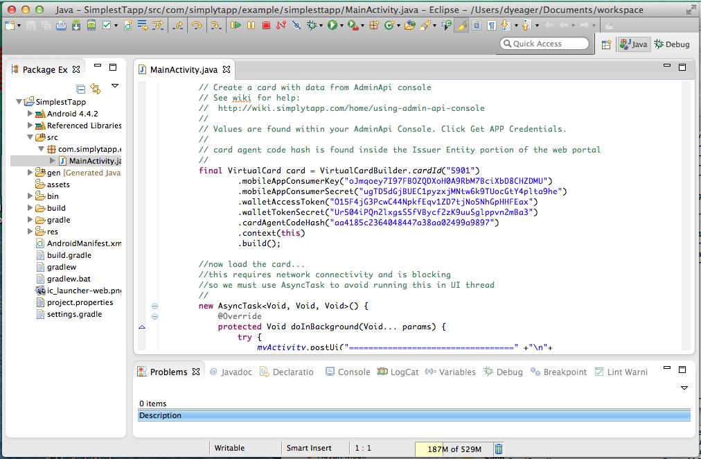 Using Admin Api Console - Developer Resource Wiki
